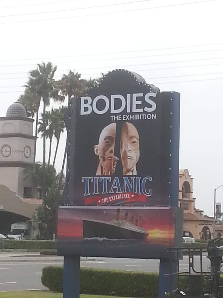 titanic bodies exhibit