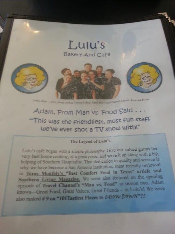 lulu's menu