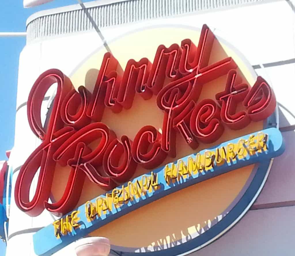 Johnny Rockets sign