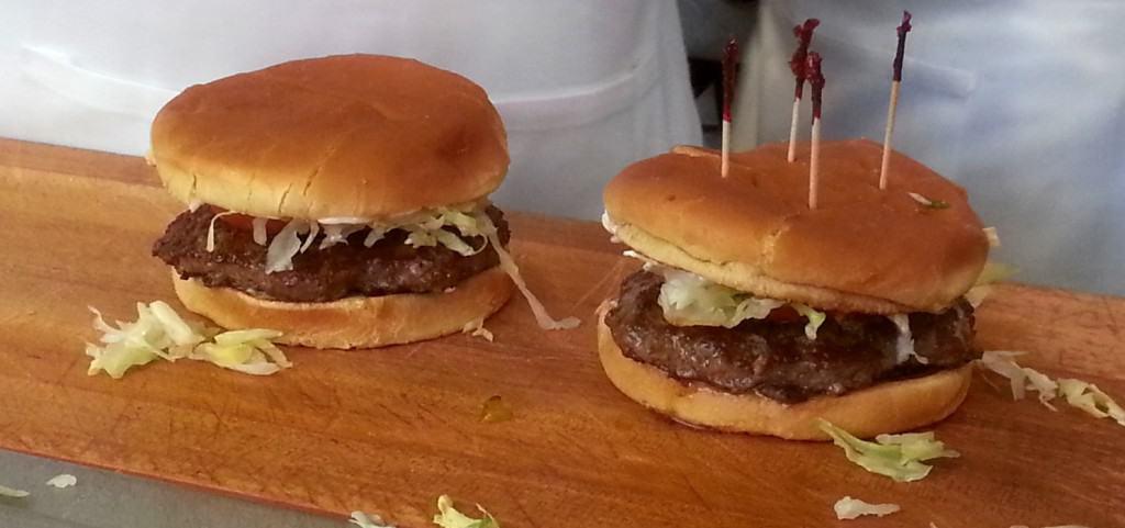 Johnny Rockets burgers