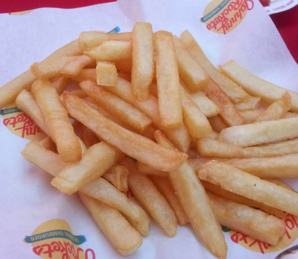 Johnny Rockets fries