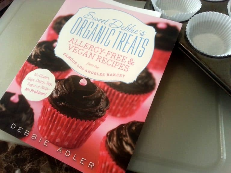 Book Review: Sweet Debbie's Organic Treats: Allergy-Free & Vegan Recipes by Debbie Adler