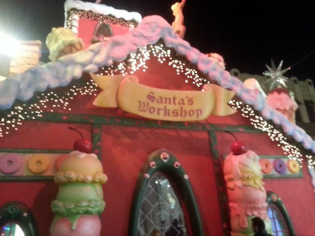 the grove santa's workshop
