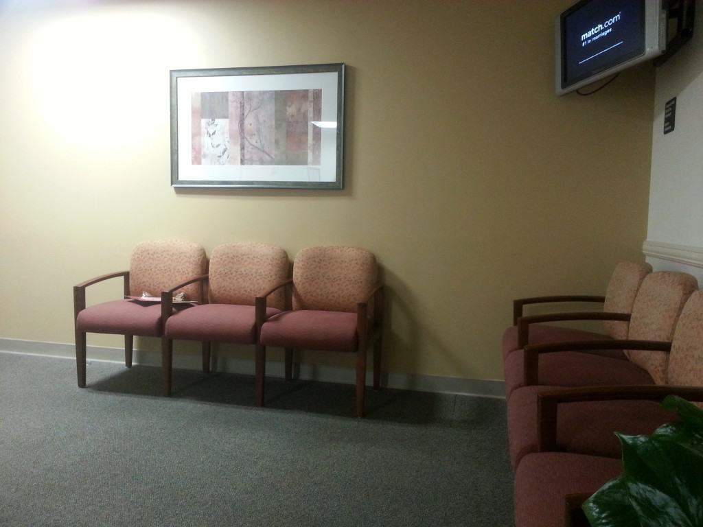 mammography waiting room