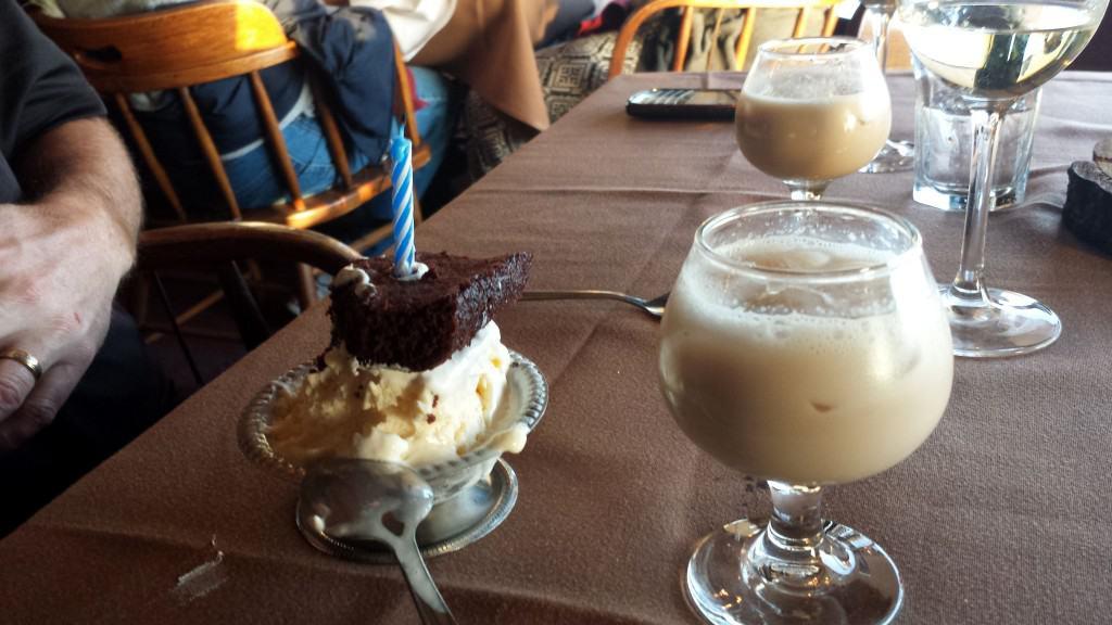 dessert at mclintock's