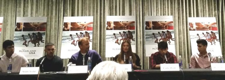 My Interview With the McFarland, USA Cast!