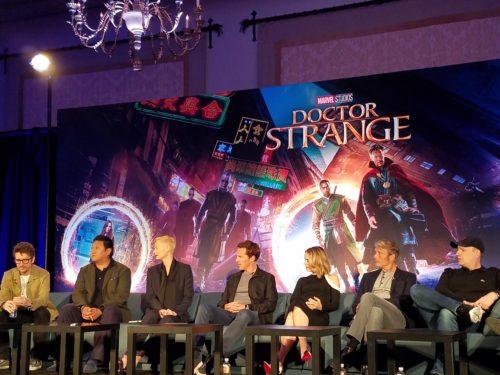 the cast of doctor strange