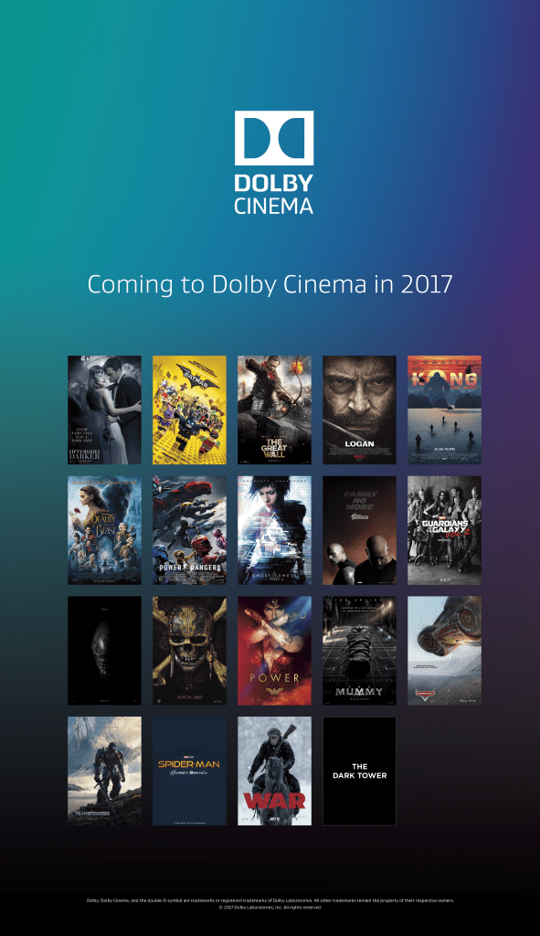 coming to dolby cinema