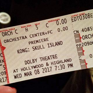 Kong: Skull Island premiere