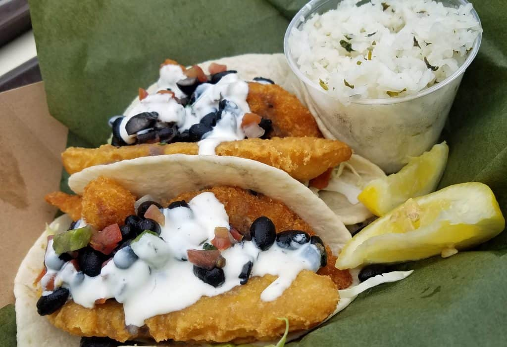 sustainable fish tacos