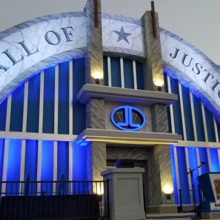 New Six Flags Magic Mountain Ride, Justice League: Battle for Metropolis