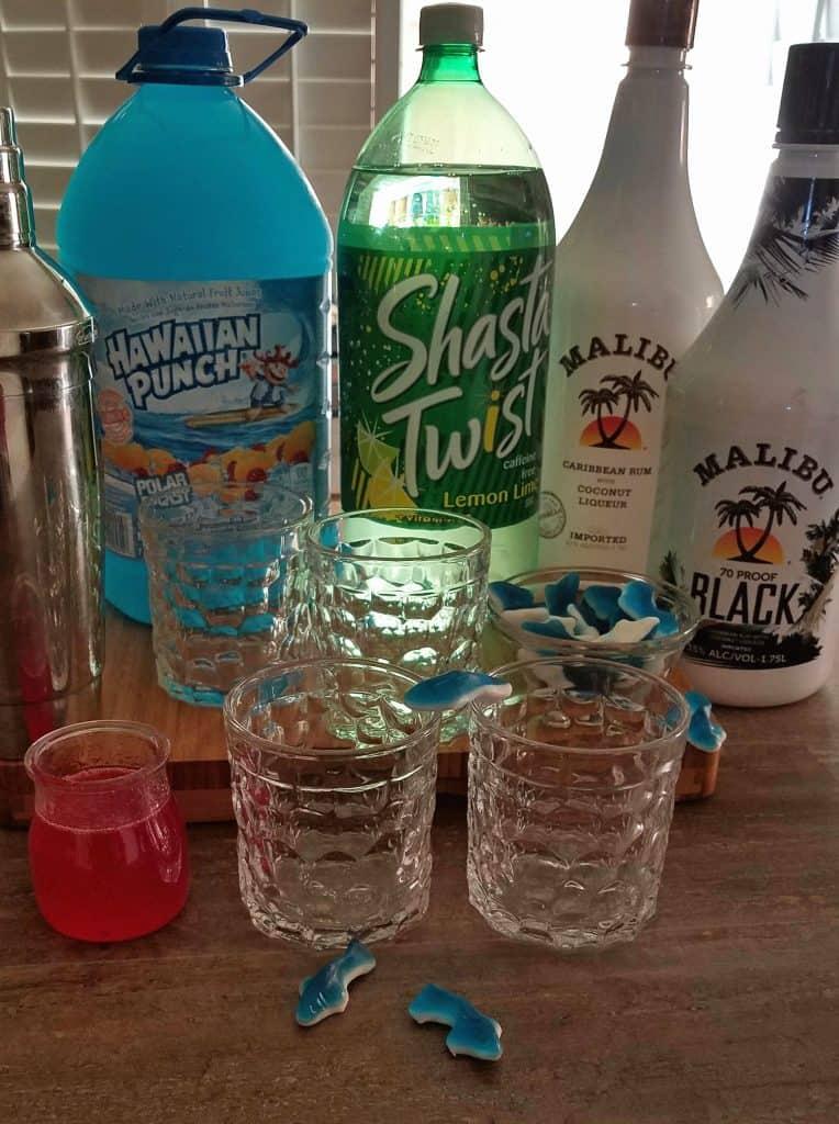 Shark Week cocktail