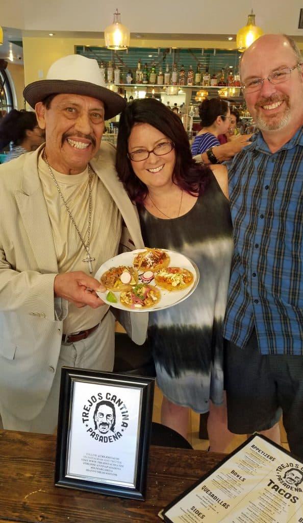 taco night at Trejo's Cantina
