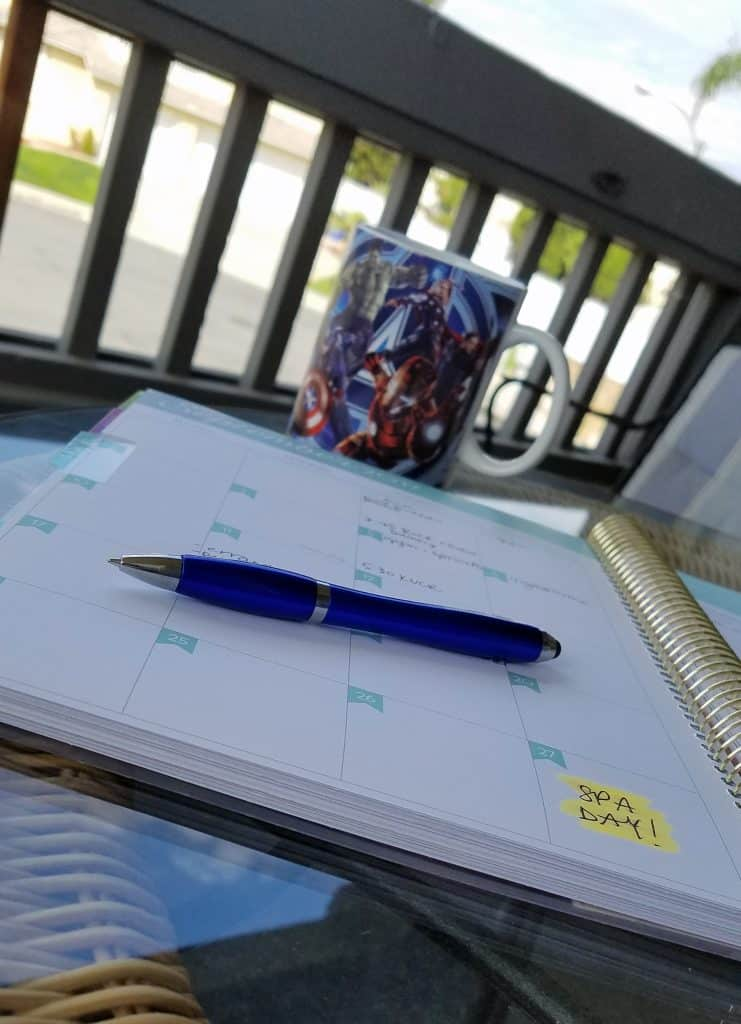 using daily planners