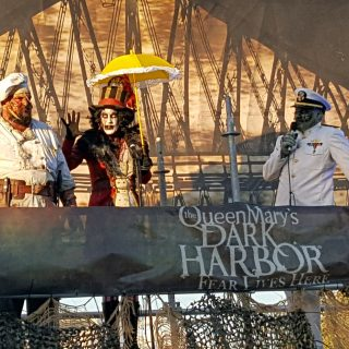 Queen Mary's Dark Harbor 2017: Get the Ship Scared Out of You!