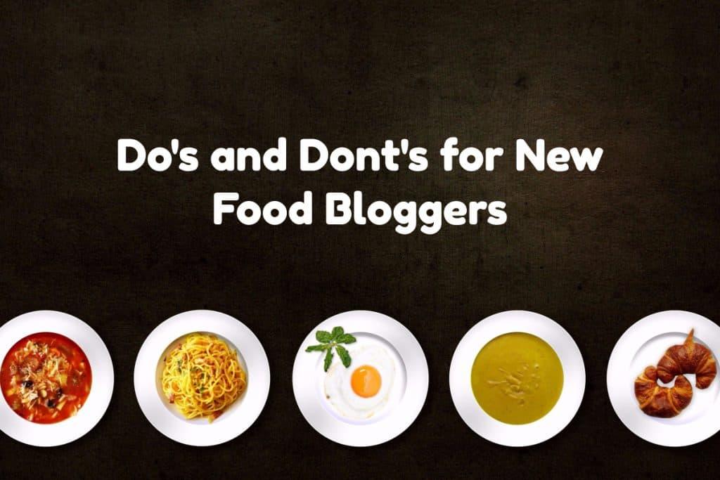 new food bloggers