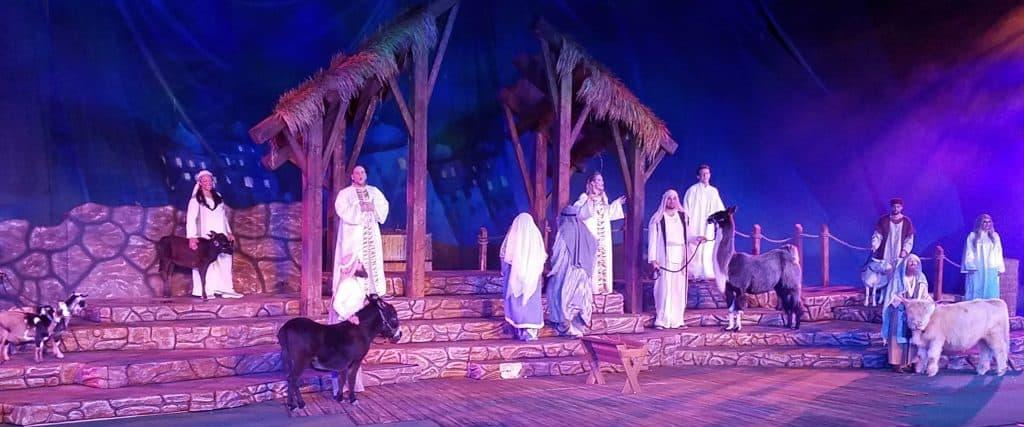 live nativity show
