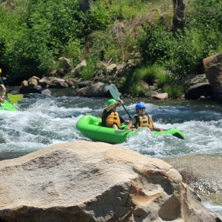 Family Fun While Camping at Kern River, California