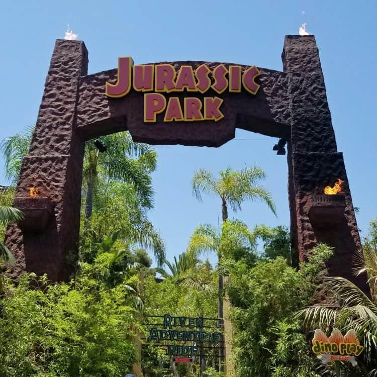 jurassic park visit universal studios