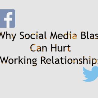 social media blasts hurt