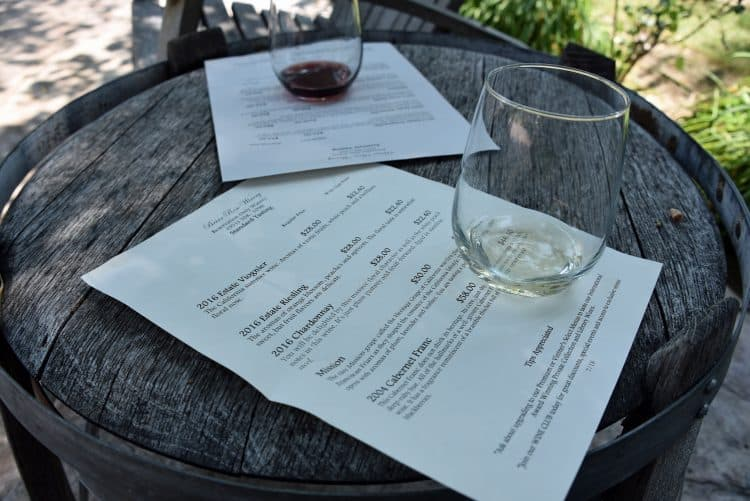 boutique winery in Temecula