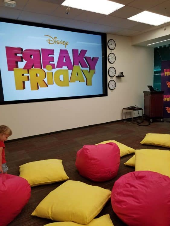 freaky friday is a musical