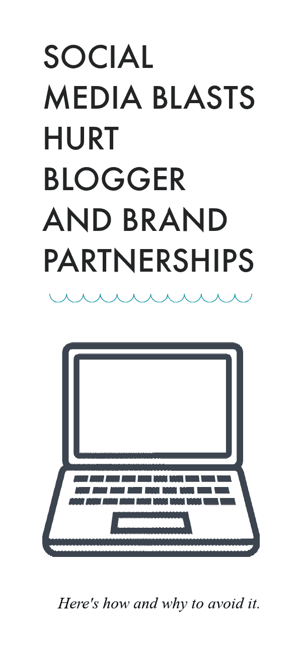 Bloggers and Brands: Social Media Blasts Hurt Working Relationships
