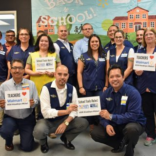 Inland Empire United Way and Walmart: Helping Teachers Buy School Supplies