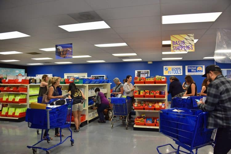 helping teachers buy school supplies