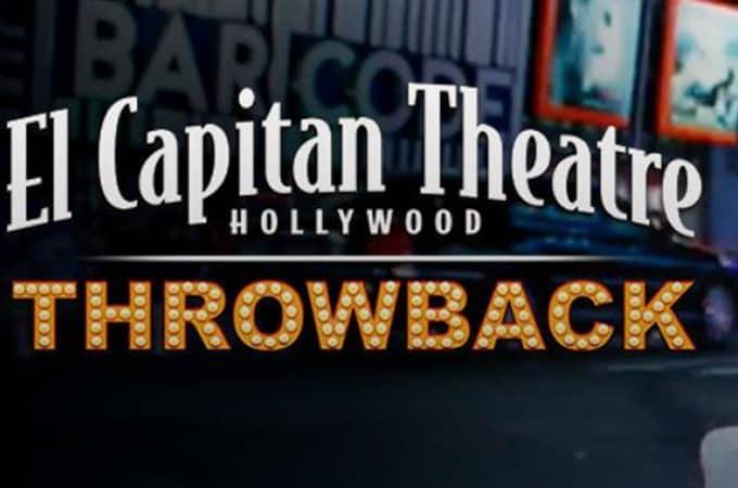 el capitan throwback