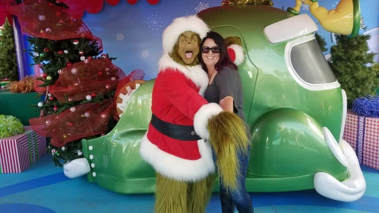 holidays at universal studios
