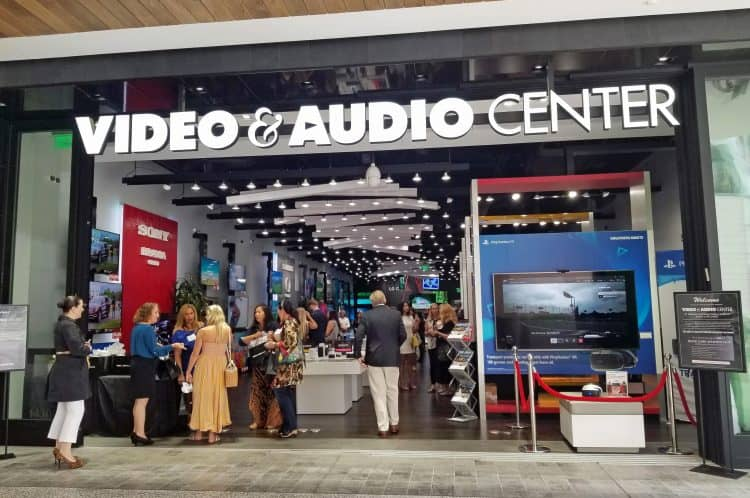 video and audio center