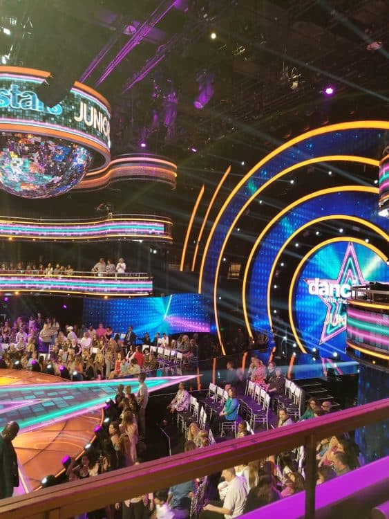attending dancing with the stars juniors
