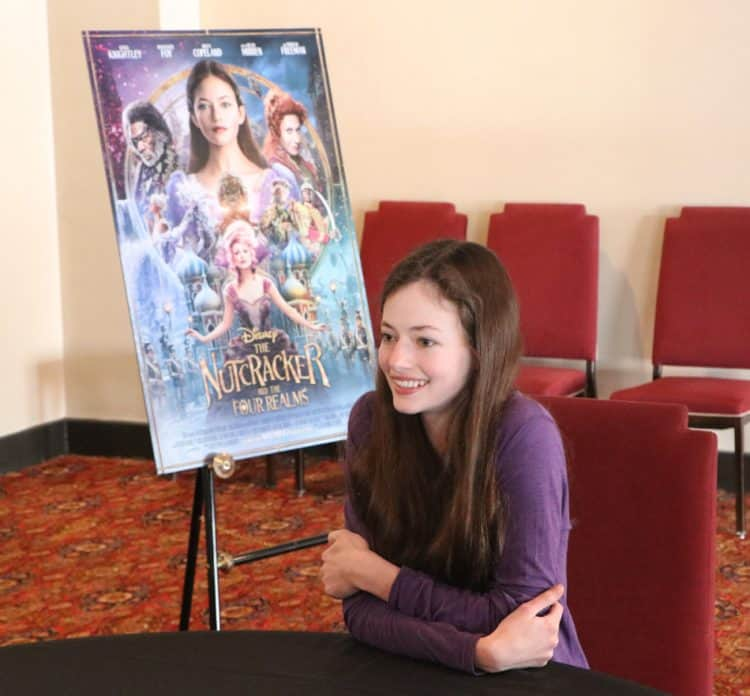 Mackenzie Foy Interview for Disney's The Nutcracker and the Four Realms