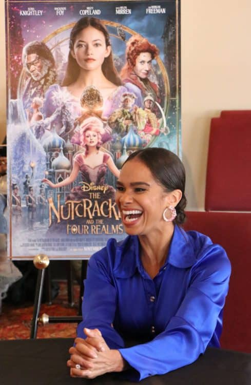 Misty Copeland interview for Disney's Nutcracker and the Four Realms