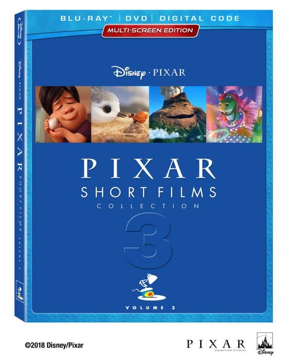 Disney Pixar Shorts blu-ray