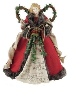 christmas tree topper angel