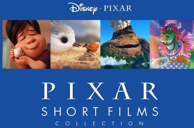 disney pixar short blu-ray