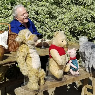 My 100 Acre Wood Picnic with Jim Cummings, Christopher Robin's Pooh