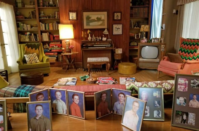 set tour of ABC's The Kids are Alright