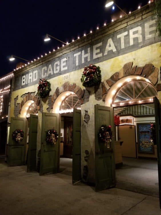 bird cage theater at knott's merry farm