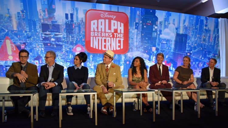 Ralph Breaks the Internet cast interview