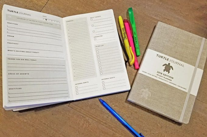 live with purpose turtle journal