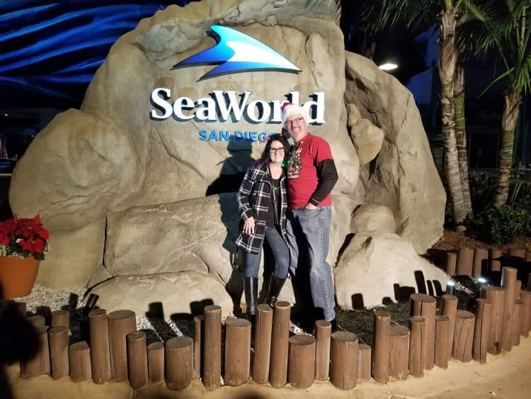 Sea World Christmas in San Diego