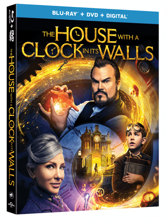 house with a clock in its walls on blu-ray