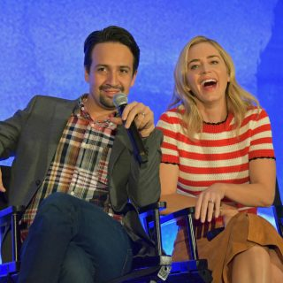 mary poppins returns cast interview