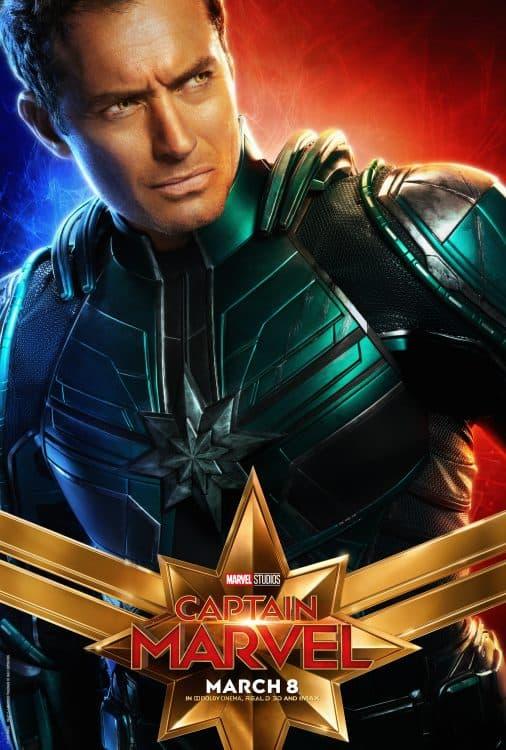 new Captain Marvel poster