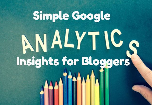 google analytics insights for bloggers