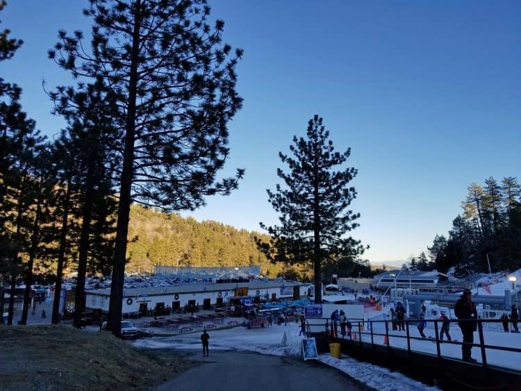 learn to ski mountain high ski resort southern california