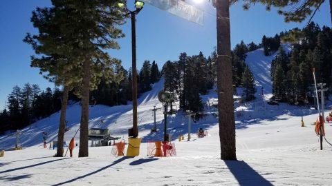 learn to ski resort southern california